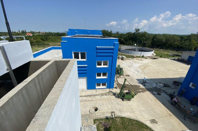Cvasi-Impermeabilizare Subsol Statia Noua de Apa Caransebes